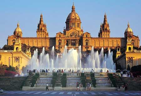 芸術の都、バルセロナ