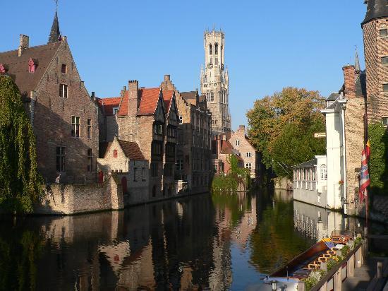 運河の町、ブリュッヘ