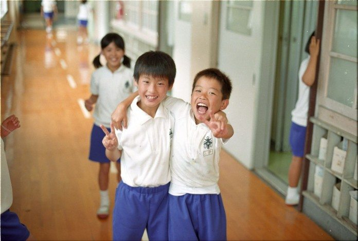 日本の小学生