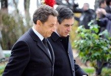 サルコジ大統領とフィヨン総理大臣