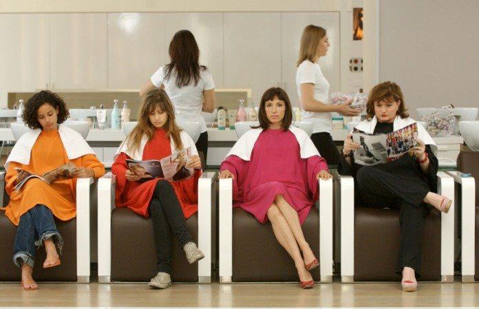 フランスの美容院