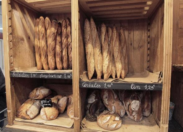 フランスのパン屋さんで