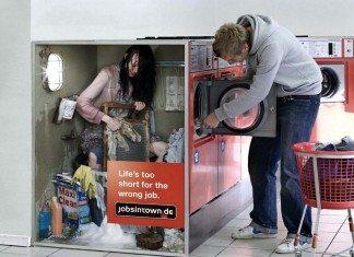 ドイツの面白い広告