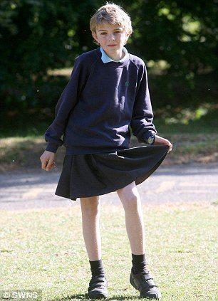 スカート少年2