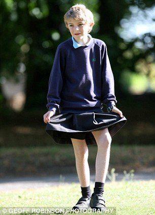 スカート少年1