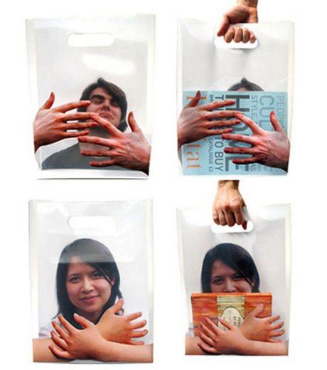 ユニーク紙袋2