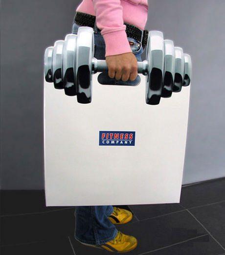 ユニーク紙袋1