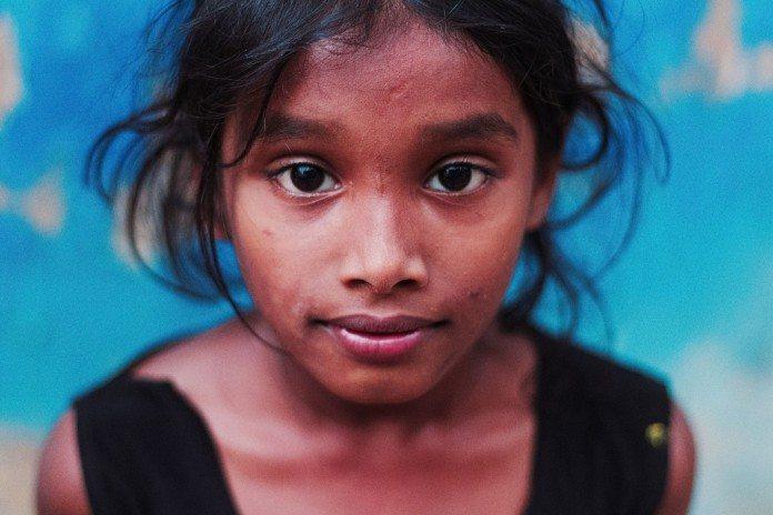 インドの少女