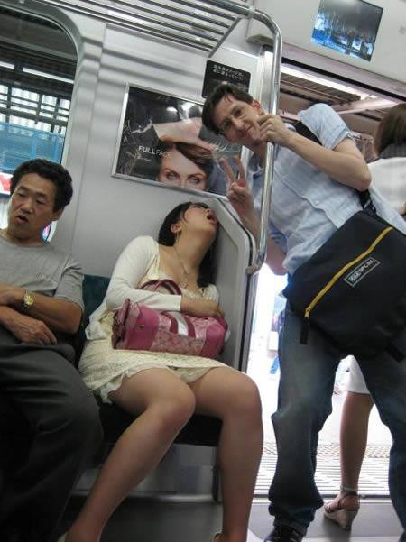 電車の変な人11号
