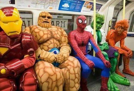 電車の変な人2号