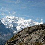 フランスを代表する山、モンブラン