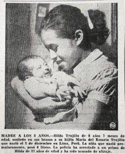 世界で3番目に若い母親、トゥルジロちゃん