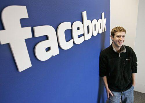 フェイスブックの創設者、マーク・ザッカーバーグ