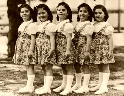 一卵性の5つ子ちゃん