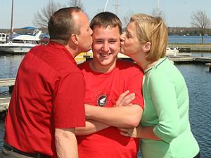 奇跡の子、ギルと家族