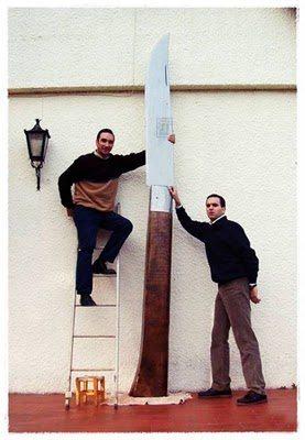 世界一大きなナイフ