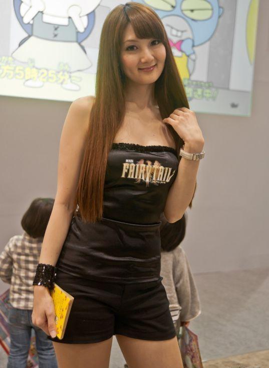 海外で話題!東京アニメフェアにいたかわいい女の子(画像24枚)