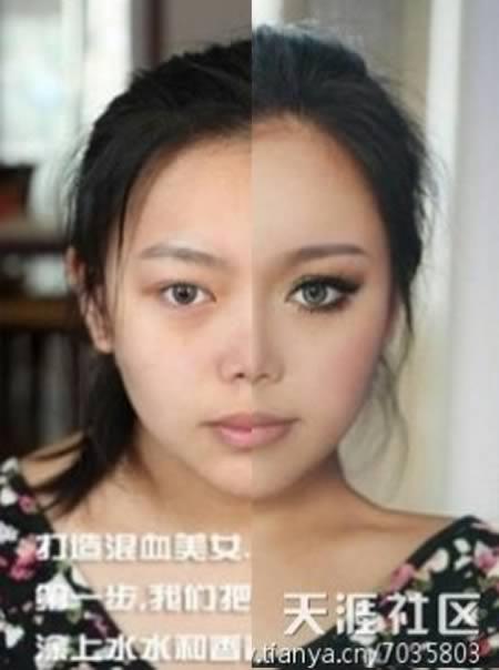 やっぱり化粧の力は驚異!メイクで整形並みに大変身な画像トップ10