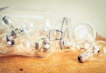 零れるほどのアイデア、電球