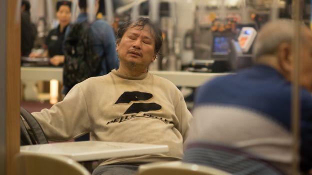 香港の「マック難民」