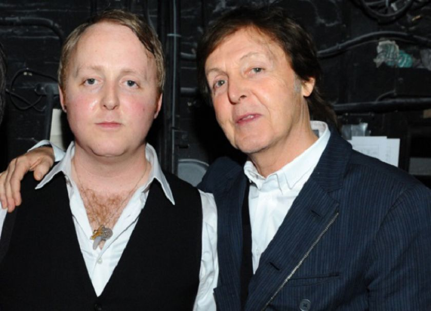 James and Paul McCartney