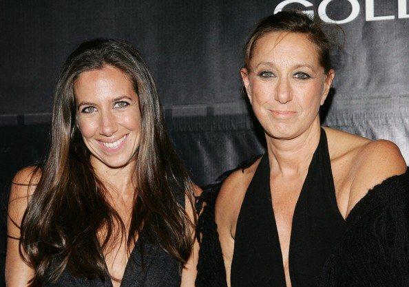 Gabby and Donna Karan