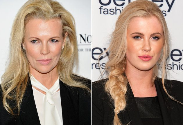 Ireland Baldwin and Kim Basinger