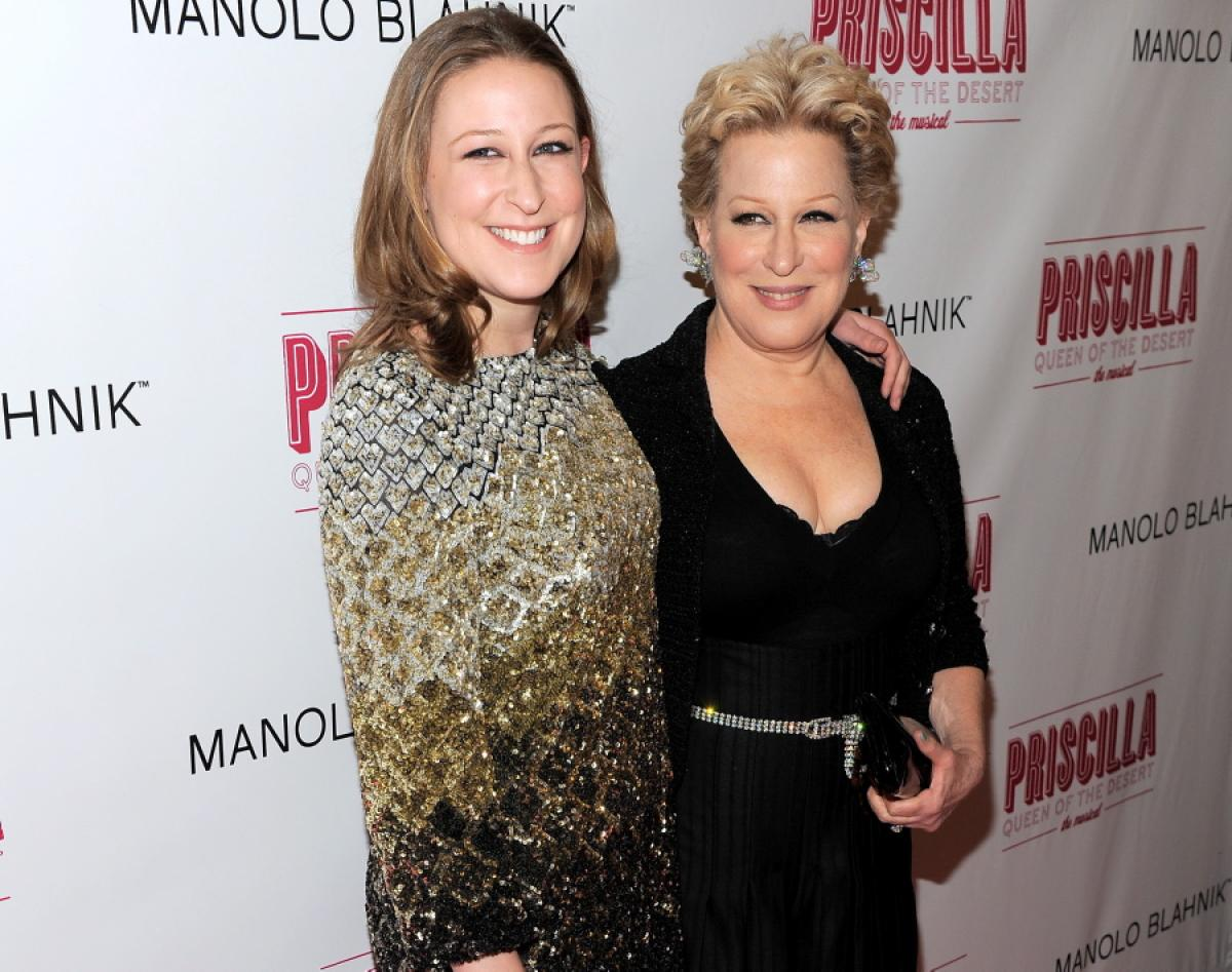Sophie and Bette Midler