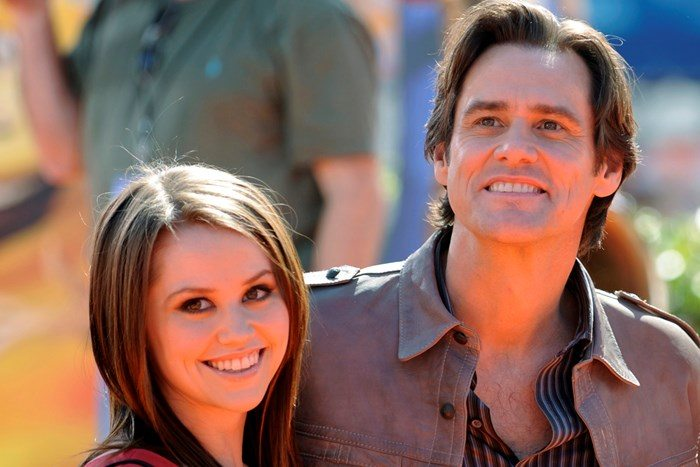 Jane and Jim Carrey