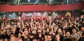 パリ同時多発テロ、バタクラン劇場の連続襲撃ビフォーアフター写真