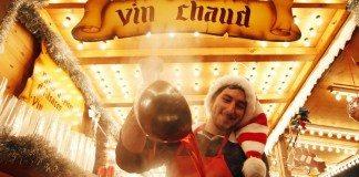 美食のフランス、クリスマスマーケットで味