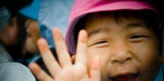幼稚園児の男の子