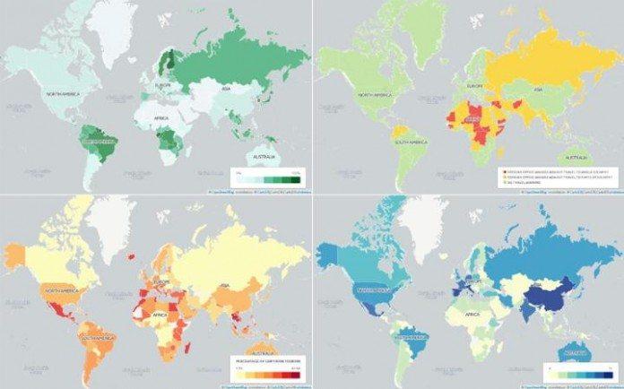 これは面白い!世界の見方が変わる15の地図