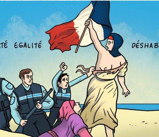 ブルキニを禁止するフランスの政策はアホすぎると思いませんか?