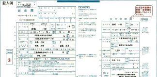 海外出産|大使館に提出する出生届の記入例がひどすぎる!問題点6つ